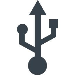 Usbマークのアイコン素材 1 商用可の無料 フリー のアイコン素材をダウンロードできるサイト Icon Rainbow