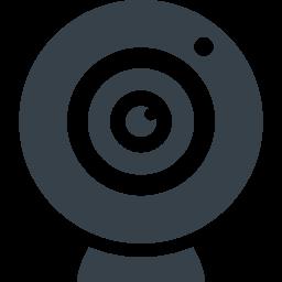 Webカメラのフリーアイコン素材 1 商用可の無料 フリー のアイコン素材をダウンロードできるサイト Icon Rainbow