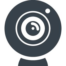 Webカメラのアイコン素材 2 商用可の無料 フリー のアイコン素材をダウンロードできるサイト Icon Rainbow