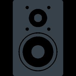 オーディオ スピーカーのアイコン素材 1 商用可の無料 フリー のアイコン素材をダウンロードできるサイト Icon Rainbow