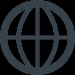 地球マークのアイコン素材 1 商用可の無料 フリー のアイコン素材をダウンロードできるサイト Icon Rainbow