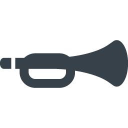 トランペットのアイコン素材 3 商用可の無料 フリー のアイコン素材をダウンロードできるサイト Icon Rainbow