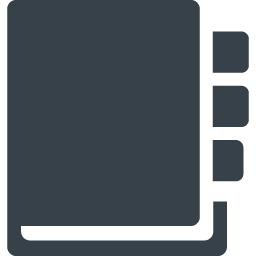 手帳のアイコン素材 1 商用可の無料 フリー のアイコン素材をダウンロードできるサイト Icon Rainbow
