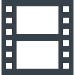 映画のフィルムのアイコン素材 2 商用可の無料 フリー のアイコン素材をダウンロードできるサイト Icon Rainbow