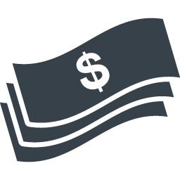 ドル紙幣のアイコン素材 5 商用可の無料 フリー のアイコン素材をダウンロードできるサイト Icon Rainbow