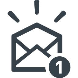 開封済みのメールイラストアイコン素材 2 商用可の無料 フリー のアイコン素材をダウンロードできるサイト Icon Rainbow
