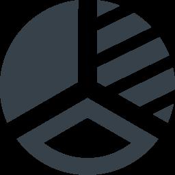 円グラフのアイコン素材 6 商用可の無料 フリー のアイコン素材をダウンロードできるサイト Icon Rainbow