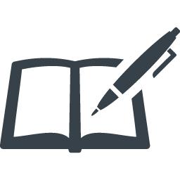 ペンとノートのアイコン素材 2 商用可の無料 フリー のアイコン素材をダウンロードできるサイト Icon Rainbow