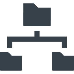 フォルダ階層のアイコン素材 2 商用可の無料 フリー のアイコン素材をダウンロードできるサイト Icon Rainbow