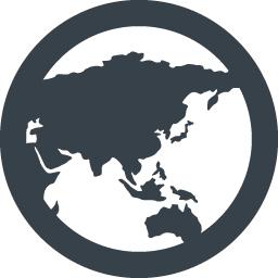 世界地図のアイコン素材 2 商用可の無料 フリー のアイコン素材をダウンロードできるサイト Icon Rainbow