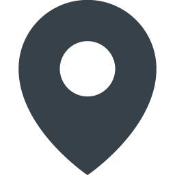 現在地を示すマップのピンのアイコン素材 1 商用可の無料 フリー のアイコン素材をダウンロードできるサイト Icon Rainbow
