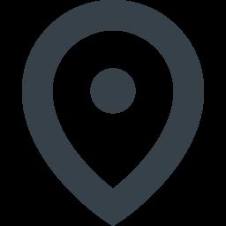 現在地を示すマップのピンのアイコン素材 2 商用可の無料 フリー のアイコン素材をダウンロードできるサイト Icon Rainbow