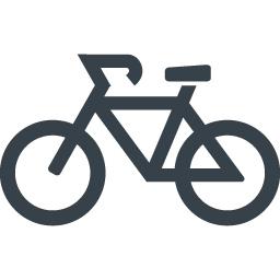 自転車のアイコン素材 2 商用可の無料 フリー のアイコン素材をダウンロードできるサイト Icon Rainbow