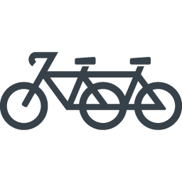 二人乗りの自転車のアイコン素材 商用可の無料 フリー のアイコン素材をダウンロードできるサイト Icon Rainbow