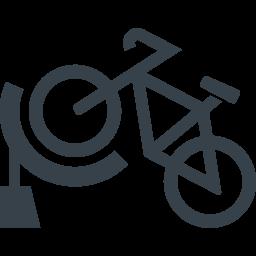 自転車の駐輪のアイコン素材 商用可の無料 フリー のアイコン素材をダウンロードできるサイト Icon Rainbow
