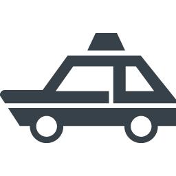 パトカーのアイコン素材 2 商用可の無料 フリー のアイコン素材をダウンロードできるサイト Icon Rainbow