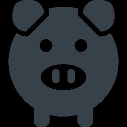 ブタのイラストアイコン素材 1 商用可の無料 フリー のアイコン素材をダウンロードできるサイト Icon Rainbow