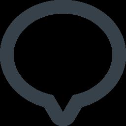 コメント 感想のフキダシアイコン 7 商用可の無料 フリー のアイコン素材をダウンロードできるサイト Icon Rainbow