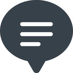 コメント 感想の吹き出しアイコン 16 商用可の無料 フリー のアイコン素材をダウンロードできるサイト Icon Rainbow