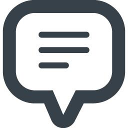 コメント 感想の吹き出しアイコン 22 商用可の無料 フリー のアイコン素材をダウンロードできるサイト Icon Rainbow