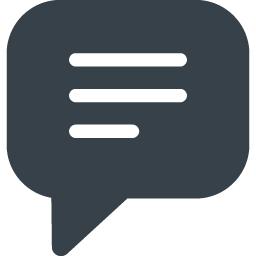 コメント 感想のアイコン素材 23 商用可の無料 フリー のアイコン素材をダウンロードできるサイト Icon Rainbow
