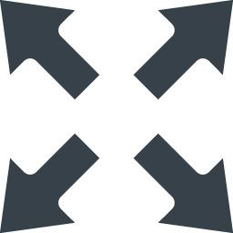 ウィンドウサイズの拡大 全画面 アイコン 1 商用可の無料 フリー のアイコン素材をダウンロードできるサイト Icon Rainbow