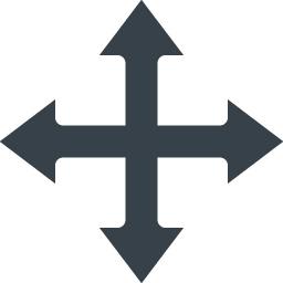 ウィンドウ コンテンツの移動矢印アイコン 1 商用可の無料 フリー のアイコン素材をダウンロードできるサイト Icon Rainbow
