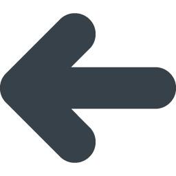汎用的な矢印のアイコン素材 2 左向き 商用可の無料 フリー のアイコン素材をダウンロードできるサイト Icon Rainbow