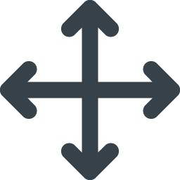 ウィンドウ コンテンツの移動矢印アイコン 2 商用可の無料 フリー のアイコン素材をダウンロードできるサイト Icon Rainbow