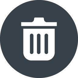 ゴミ箱のアイコン素材 6 商用可の無料 フリー のアイコン素材をダウンロードできるサイト Icon Rainbow