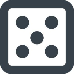 サイコロのアイコン素材 5 商用可の無料 フリー のアイコン素材をダウンロードできるサイト Icon Rainbow