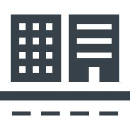 シンプルなビルのアイコン素材 3 商用可の無料 フリー のアイコン素材をダウンロードできるサイト Icon Rainbow