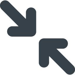 ウィンドウサイズの縮小アイコン 4 商用可の無料 フリー のアイコン素材をダウンロードできるサイト Icon Rainbow