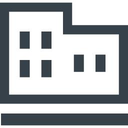 ビルのアイコン素材 1 商用可の無料 フリー のアイコン素材をダウンロードできるサイト Icon Rainbow