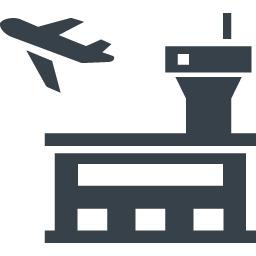 空港のイラストアイコン素材 商用可の無料 フリー のアイコン素材をダウンロードできるサイト Icon Rainbow