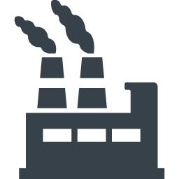 商用利用可の工場のアイコン素材 2 商用可の無料 フリー のアイコン素材をダウンロードできるサイト Icon Rainbow