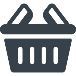 手持ちの買物かごのイラストアイコン素材 商用可の無料 フリー のアイコン素材をダウンロードできるサイト Icon Rainbow