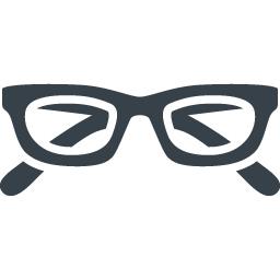 メガネのフリーアイコン素材 3 商用可の無料 フリー のアイコン素材をダウンロードできるサイト Icon Rainbow