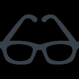 メガネのアイコン素材 6 商用可の無料 フリー のアイコン素材をダウンロードできるサイト Icon Rainbow