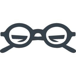 メガネのフリーアイコン素材 7 商用可の無料 フリー のアイコン素材をダウンロードできるサイト Icon Rainbow