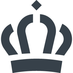 王冠のイラストアイコン素材 7 商用可の無料 フリー のアイコン素材をダウンロードできるサイト Icon Rainbow