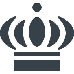 王冠のイラストアイコン素材 15 商用可の無料 フリー のアイコン素材をダウンロードできるサイト Icon Rainbow