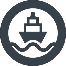 正面を向いた船のフリーアイコン素材 2 商用可の無料 フリー のアイコン素材をダウンロードできるサイト Icon Rainbow