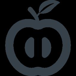 リンゴのアイコン素材 3 商用可の無料 フリー のアイコン素材をダウンロードできるサイト Icon Rainbow