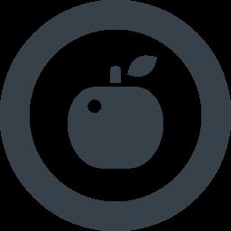 リンゴのアイコン素材 4 商用可の無料 フリー のアイコン素材をダウンロードできるサイト Icon Rainbow