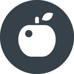 リンゴのアイコン素材 5 商用可の無料 フリー のアイコン素材をダウンロードできるサイト Icon Rainbow