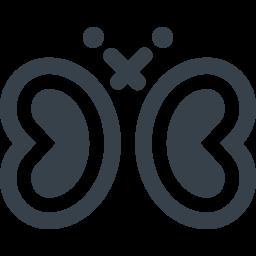 蝶のアイコン素材 1 商用可の無料 フリー のアイコン素材をダウンロードできるサイト Icon Rainbow