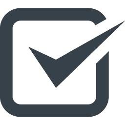 チェックマークのアイコン素材 8 商用可の無料 フリー のアイコン素材をダウンロードできるサイト Icon Rainbow