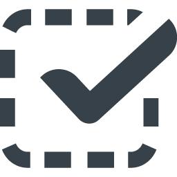 チェックマークのアイコン素材 13 商用可の無料 フリー のアイコン素材をダウンロードできるサイト Icon Rainbow