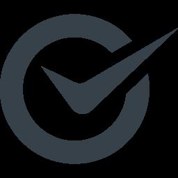 丸とチェックマークのアイコン素材 15 商用可の無料 フリー のアイコン素材をダウンロードできるサイト Icon Rainbow